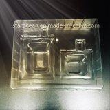 De aangepaste Plastic Dienbladen van het Pakket voor Schoonheidsmiddelen met de Doos van het Karton