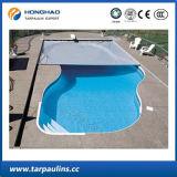 Couverture de piscine de bonne qualité Housse en PE imperméable à l'étain HDPE