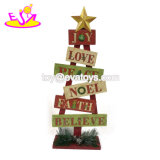 بالجملة رخيصة خشبيّة عيد ميلاد المسيح جدار صنع وفقا لطلب الزّبون زخرفة مع [و09د037]
