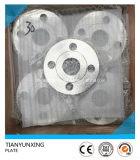 DIN2545 Pn40 F304 편평한 전면 플레이트 스테인리스 플랜지