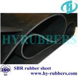 Chapa de borracha de alta recuperação reconstituída em fábrica / SBR Folha de borracha em rolo