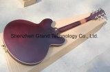 Гитара изготовленный на заказ тела красного вина красного электрическая с золотистым оборудованием (TJ-233)