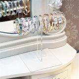 上の販売のアクリルのブレスレットの陳列台の宝石類の表示