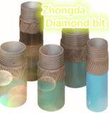 Trépan de diamant pour grès / toute taille et fourniture de couleur Forage au diamant