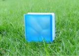 De mooie Zure Blauwe Bewolkte Baksteen/het Blok van het Glas (JINBO)