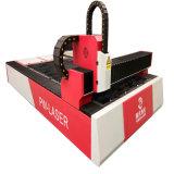 machine de découpage de laser de fibre de commande numérique par ordinateur en métal de fer d'acier du carbone d'acier inoxydable de 500W 1000W 2000W