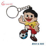 3D Sport Shape High Quality Rubber Keychain