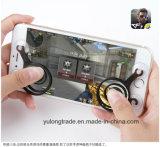 人間の特徴をもつiPhoneおよびiPadのタッチ画面のための移動式ジョイスティックの小型ジョイスティック