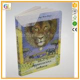 Impressão do livro da história das crianças da cor cheia