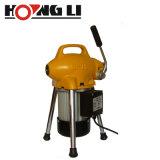 Hongli S75 부분적인 하수구 청소 기계 뱀 세탁기술자 공구 장치