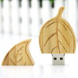 Personnaliser la carte mémoire Memory Stick en bois de la forme de lame de logo USB (YT-8141)