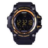 方法Ex16のための情報処理機能をもった装置歩数計の標準的でスマートな腕時計