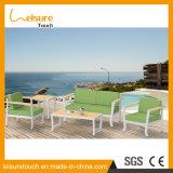 Moderner Freizeit-Stuhl-moderner preiswerter Hotel-Sofa-Bett-Aluminiumhausgarten-Sofa-gesetzter Patio-im Freienmöbel