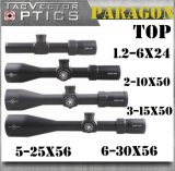 Vector Optics Paragon 5-25X56 Escopo de fuzil preciso tático com alemão Schott Glass