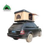 도로 모험 야영 가족 단단한 쉘 차 지붕 상단 천막 떨어져