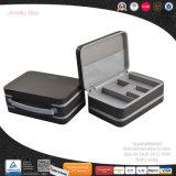 Contenitore di monili di cuoio multifunzionale portatile (8806R2)