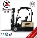 Jeakue Hot-Selling 1.5T 1.8T 2t de la carretilla elevadora eléctrica de tres ruedas