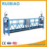 Zlp630 Plataforma suspendida/construcción/Grúa Zlp800-Velocidad de elevación-8-10m/min/Aleación de aluminio