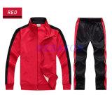 Ворот Mens высокий промелькивает вверх красную приполюсную куртку ватки