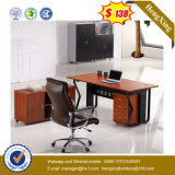 흑색 화약 코팅 강철 다리 사무용 가구 테이블 책상 (UL-MFC598)