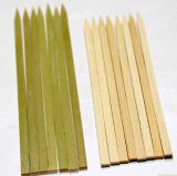 Plano directamente de fábrica populares cañas de bambú Kebab Asadores (BC-BS010)