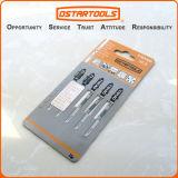 Hcs T101aoのTすねの複雑な刃のセット、木および金属は、5詰まる