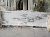 Mármore branco da montanha de China para a telha/laje/Worktop/bancada