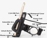 Универсальный мобильный телефон владельца для установки на руле велосипеда мотоциклов телефоны Mount + зарядное устройство USB
