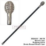 Металла шпаги тросточки смолаы ручка 90cm HK8353 круглого головного гуляя