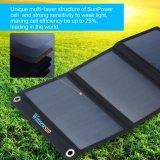 携帯電話のための折る太陽充電器