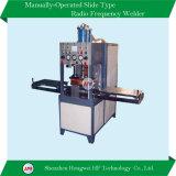 Máquina de soldadura de alta freqüência principal da bandeja manual da canela única