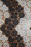 女性Dressesおよびホーム織物ののための優雅な刺繍パターンが付いている新式のポリエステルレースファブリック
