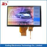 7 인치 해결책 1024*600 의 높은 광도 TFT 전기 용량 접촉 LCD 디스플레이