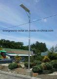 Système d'éclairage LED solaire 100W, AIO Éclairage solaire