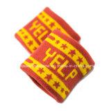 Sweatband su ordinazione della manopola del Terry del cotone del jacquard del ricamo di marchio dei prodotti dell'OEM della fabbrica