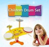 OnderwijsSpeelgoed van de Instrumenten van het Drumstel van jonge geitjes het Houten Muzikale