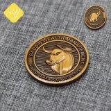 La meilleure qualité de copie personnalisée prix d'usine Alliage de zinc double coin