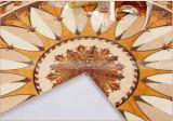La fábrica de cristal pulido de 300x300 con mosaico de Oro (BDJ60780)