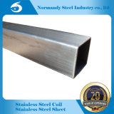 304 soldó el tubo del cuadrado del acero inoxidable para la decoración