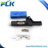 FTTH/FTTX SC/ПОСЛЕ ЗАМКА ЗАЖИГАНИЯ/блок защиты и коммутации оптоволоконный быстрый Ассамблеи быстрый разъем для сети