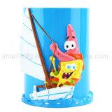 Kind-Karikatur-Harz-Trommel-Produkte für Badezimmer-Freuden
