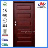 Дверь Индии малой подгонянная конструкцией деревянная высекая
