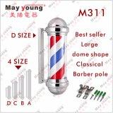 Ce RoHS del negozio di barbiere del salone di capelli di prezzi di fabbrica che gira il segno Palo del barbiere del LED