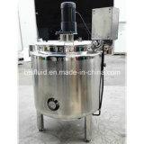 Calefacción eléctrica de camisa de gelatina de coco maquinaria depósito mezclador