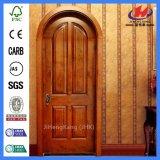El marco de puerta interior del artesano talla la puerta de madera de lujo de madera (JHK-006CS)