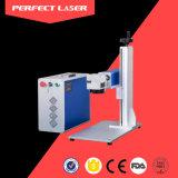 Máquina perfeita da marcação do laser da tampa do telefone do laser com Ce