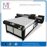 LED UV 램프 & Epson Dx5 헤드 1440dpi 해결책을%s 가진 Mt 목제 UV 평상형 트레일러 인쇄 기계