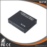 より長い範囲のファイバー媒体のコンバーター1X 100Base-FXへの4X 10/100Base 1550nm 80km SC