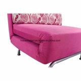 Volle Metalzelle, die einzelnes Sofa-Bett faltet