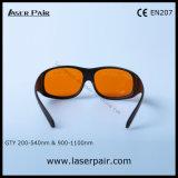 Laserpairからの200の- 540nm及び900 - 1100nm目の保護ガラスレーザーの保護ゴーグル